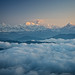 Mount Kangchenjunga viewed from Sandakphu at altitude of 3636 m by CamelKW