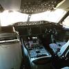 Inside a 787 cockpit