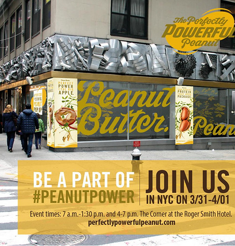 For nearly a week, the National Peanut Board invaded the streets of New York to connect the city to the more than 7,000 peanut farming families the board represents. To connect with New Yorkers, they set up a pop-up shop where visitors could sample foods, talk to peanut farmers, and much more. Photo Courtesy of the National Peanut Board.