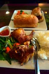 Crispy Chicken and Sandwich