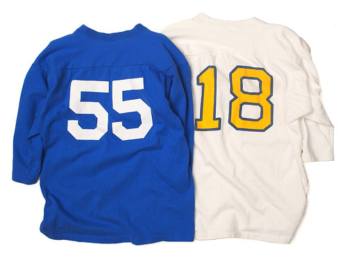 Champion [70's Vintage] / 3/4 Sleeve Football Tee
