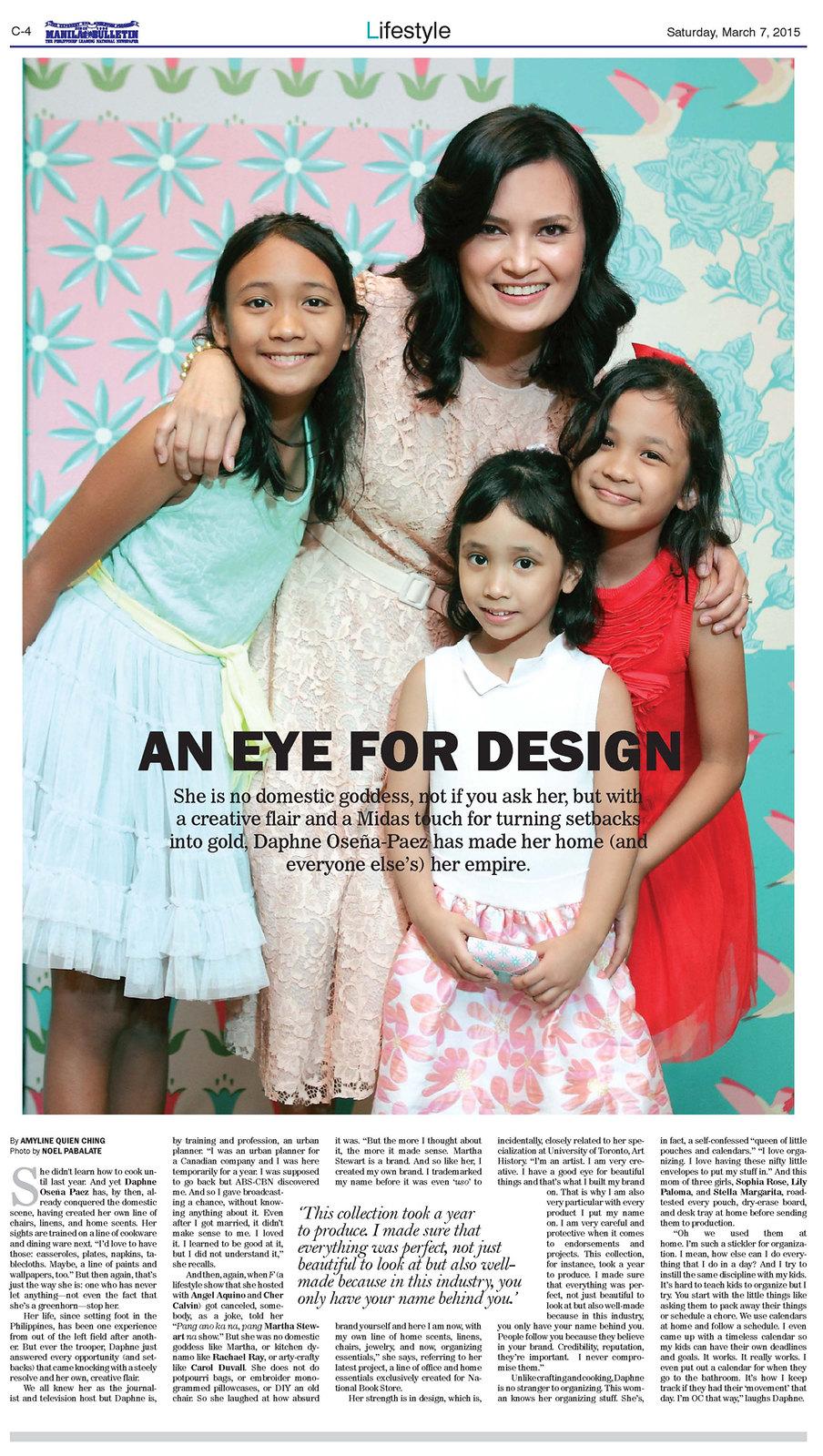 Manila bulletin Daphne NBS