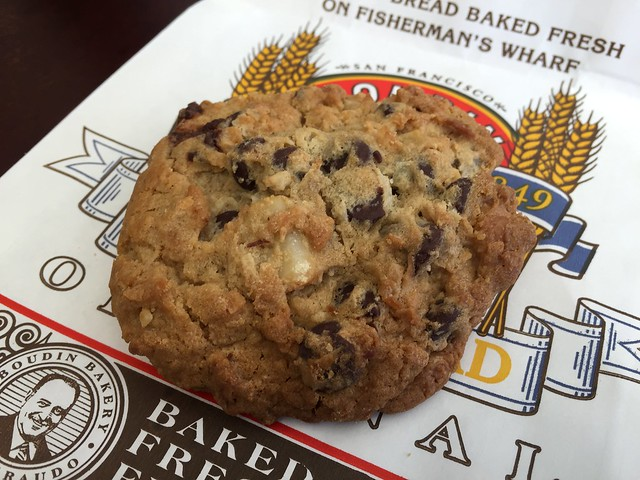 The Royale cookie - Boudin Bakery and Cafe