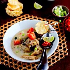 Sup kaki kambing Betawi