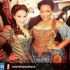 #Repost @marishawallace with @repostapp.・・・Opening Night! @chelsmstock @rottenbroadway