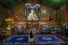 Buddha image Sutaungpyei Pagoda, Mandalay hill