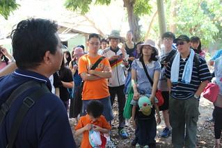 民間團體不定期舉辦導覽解說,吸引學子及民眾參加。