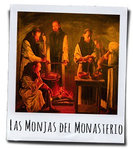 De monniken van het Monasterio de Piedra in Calatayud