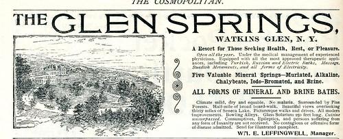 The Glen Springs, Watkins Glen N. Y. 1896