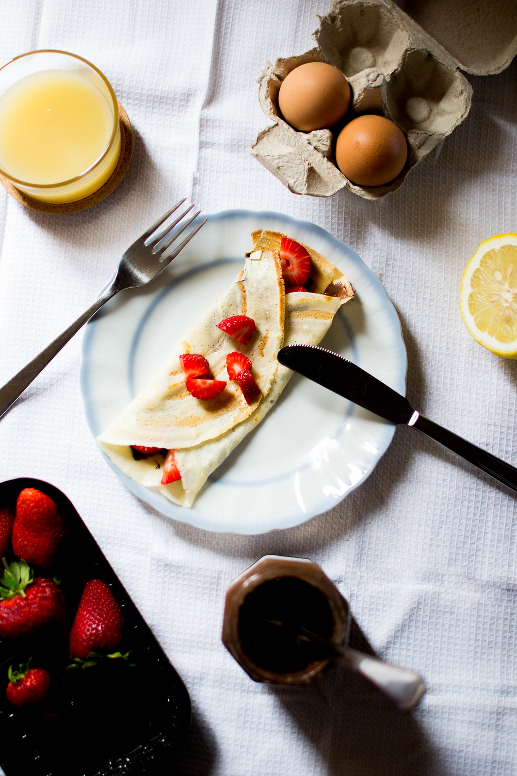how to make crepes for two
