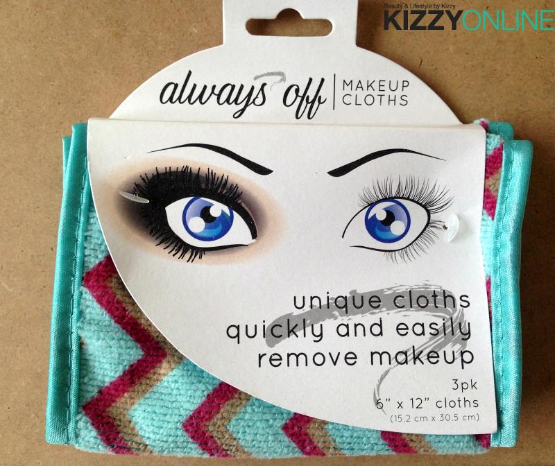 Always Off Makeup Cloths