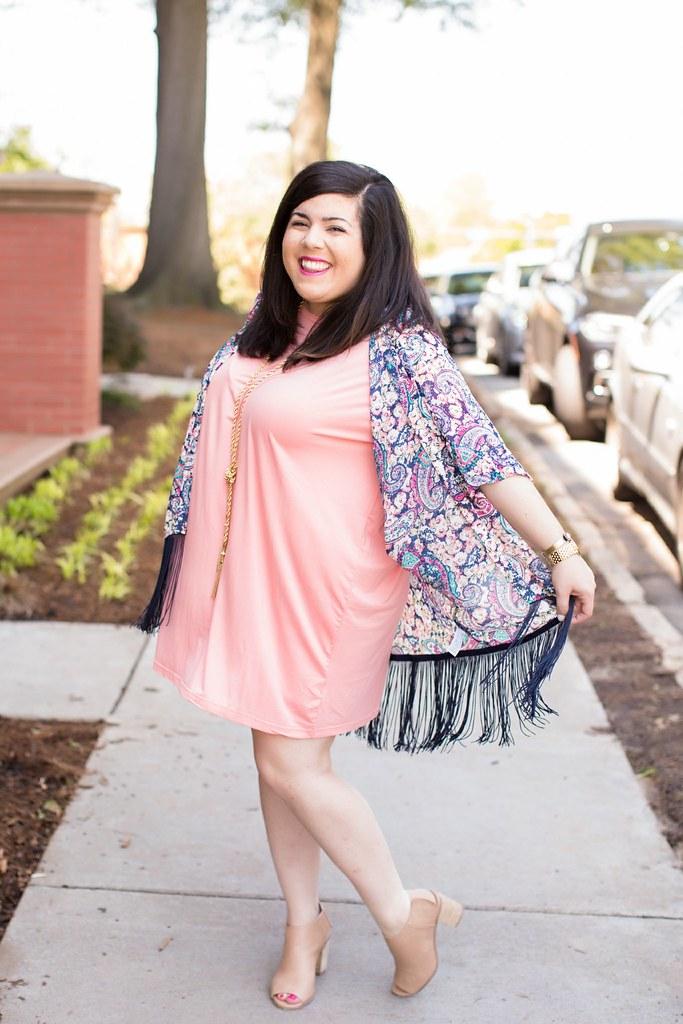 Head to Toe Chic, fringe kimono