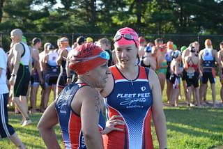 Liz and Kyli Pre-Race