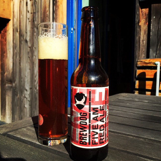 #beeroftheday: #brewdog #fiveam