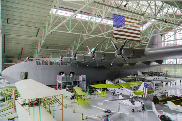 Spruce Goose Aircraft in 3D