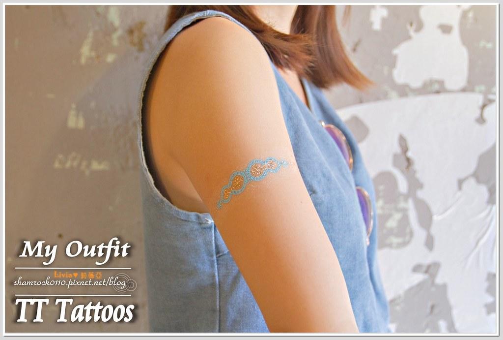 TT Tattoos金屬紋身貼 - 29