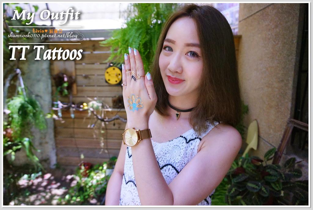 TT Tattoos金屬紋身貼 - 33
