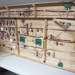 Wiring under EBM complete.