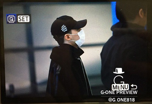 Big Bang - Incheon Airport - 07dec2015 - G-One - 04