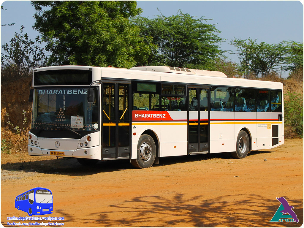 Parveen Mercedes Benz  MCV C120 LE City Bus