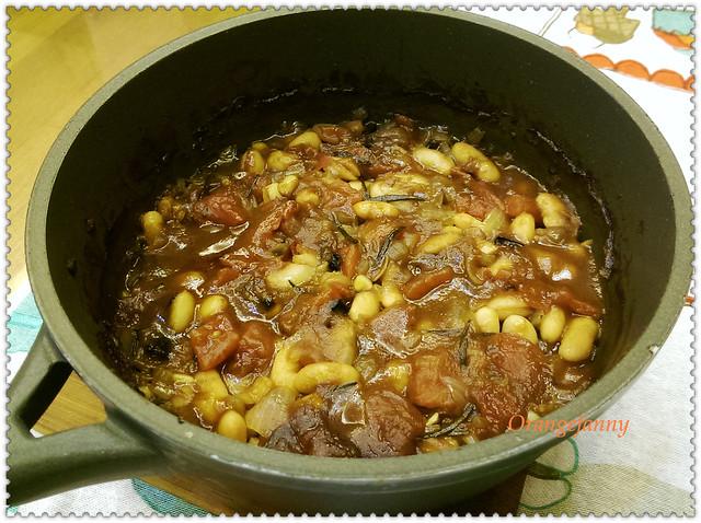 150430 燉白豆烤吐司-03