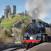 Pulling into Corfe Castle Station by sophiaspurgin