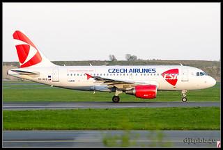 CPH/EKCH CSA - Czech Airlines Airbus A319-112 OK-REQ