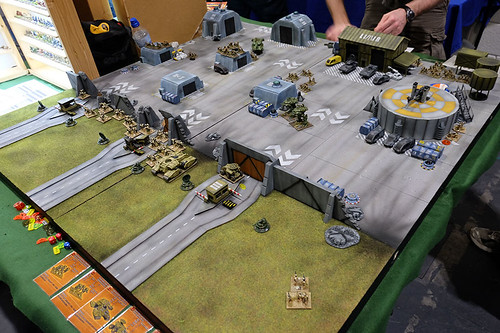 Critical Mass Games Table at Salute 2015