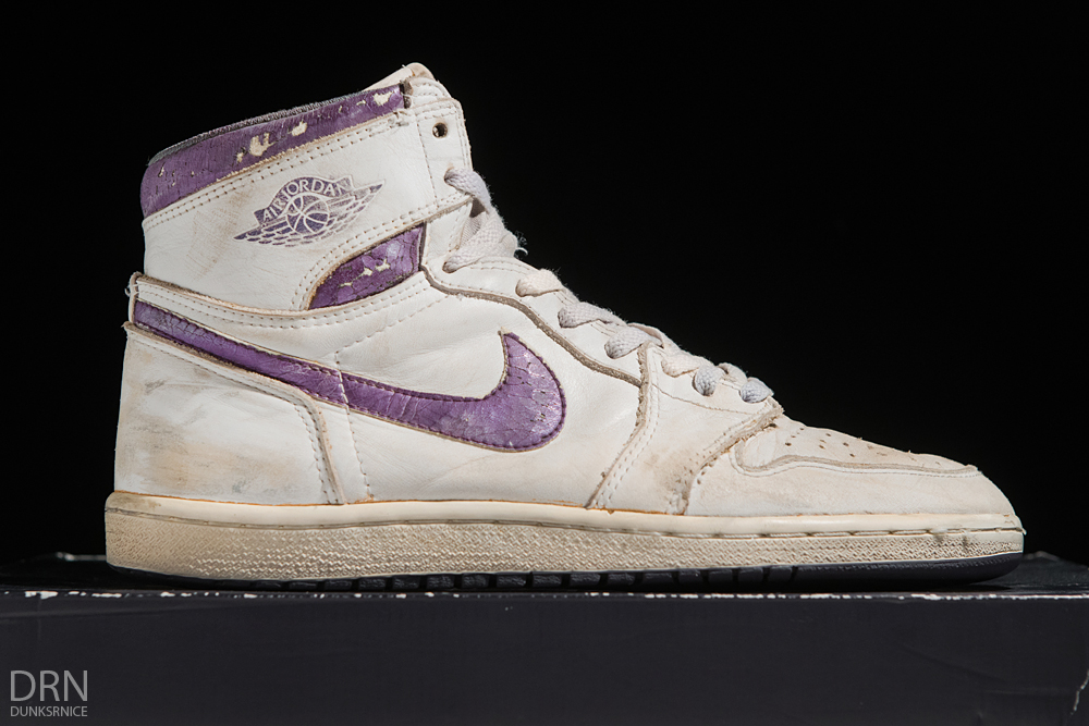 1985 Metallic Purple & White I's.