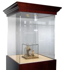 Display Case Mahogany Traditional