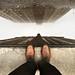 Feet, Puddle, Sky by mckenziemedia