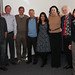 The Lab and SMT collaborators (left to right): Donald Shields, Aaron Anderson, Paul Smith, Nicholas Hengartner, Dr. Donald Becker, Harshini Mukundan (co-PI), Laurie Samitaur Smith, Frederick Smith, Dung Vu (co-PI) and Robert Dye. Absent from the team photo are Srinivas Iyer, Michael Everhart Erickson and Timothy Sanchez.