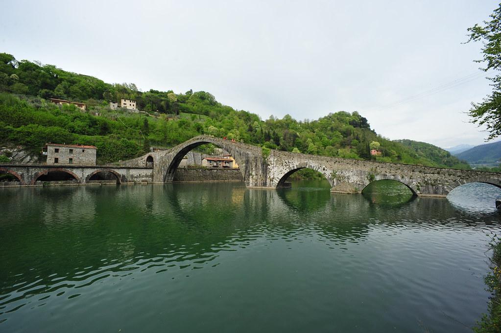 Ponte del diavolo, Garfagnana, Tuscany, Italy April 26, 2015 421