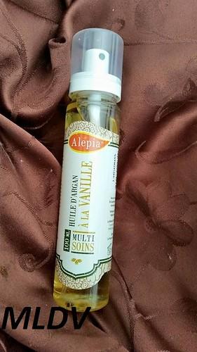 l'huile d'argan à la vanille alepia