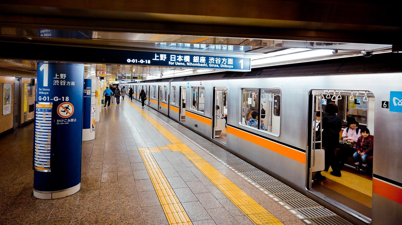 日本地铁_日本铁路心得-坐火车游日本其实很简单