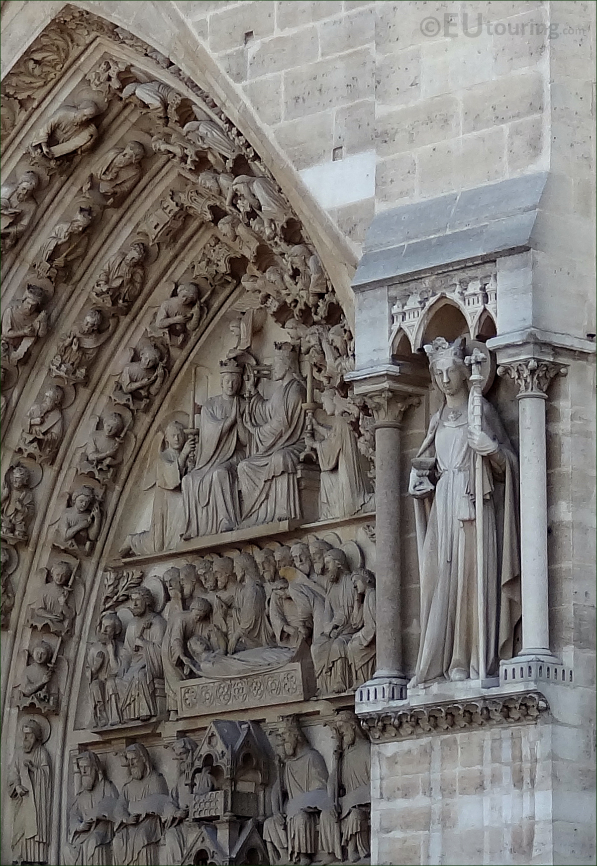 Overlooked details on the Notre Dame