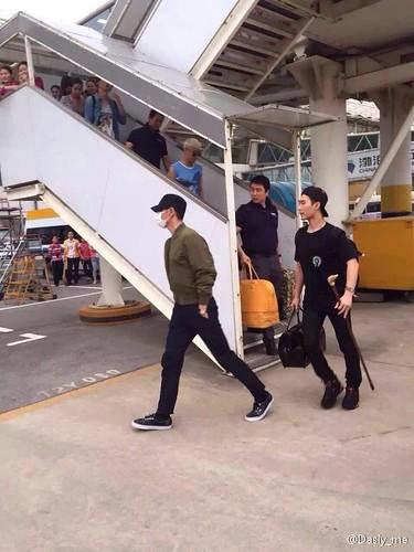 BIGBANG arrival Wuhan 2015-06-26 021