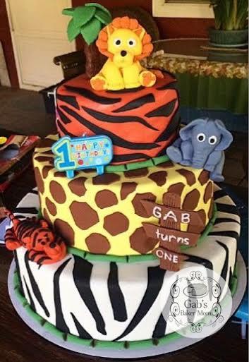 Cake by Ela Reyes of Gab's Baker Mom