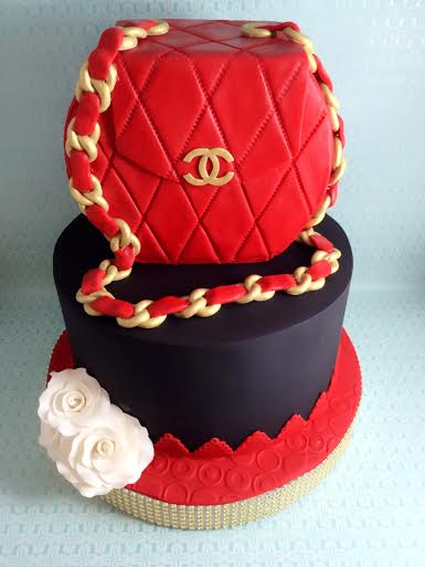 Chanel Bag Cake by Rich Real