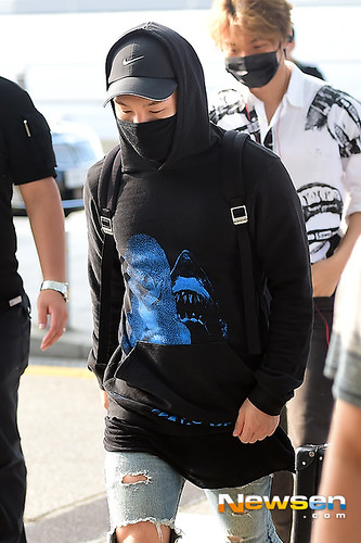 Big Bang - Incheon Airport - 07aug2015 - Newsen - 13