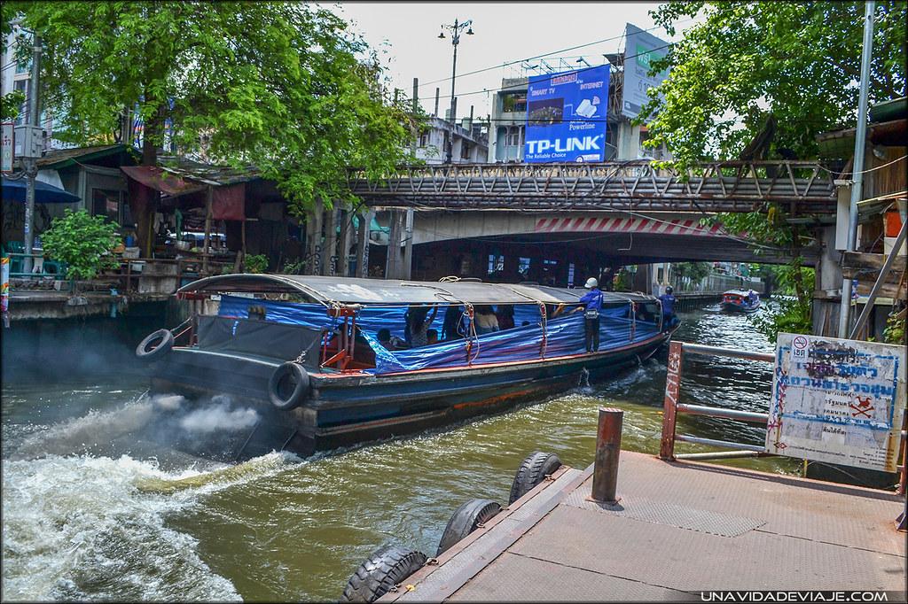 Tailandia Bangkok Canales