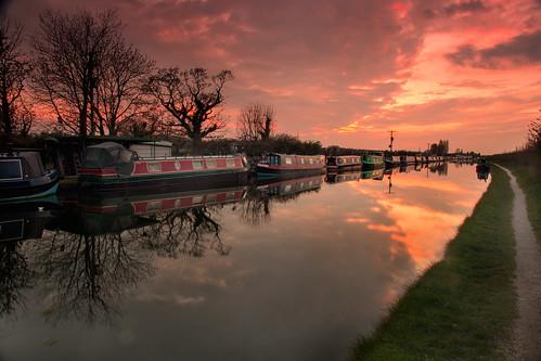 longexposure sunset reflection canon manchester evening boat canal nikon style captain filters narrowboat canalboat bridgewater bridgewatercanal 18135mm 60d
