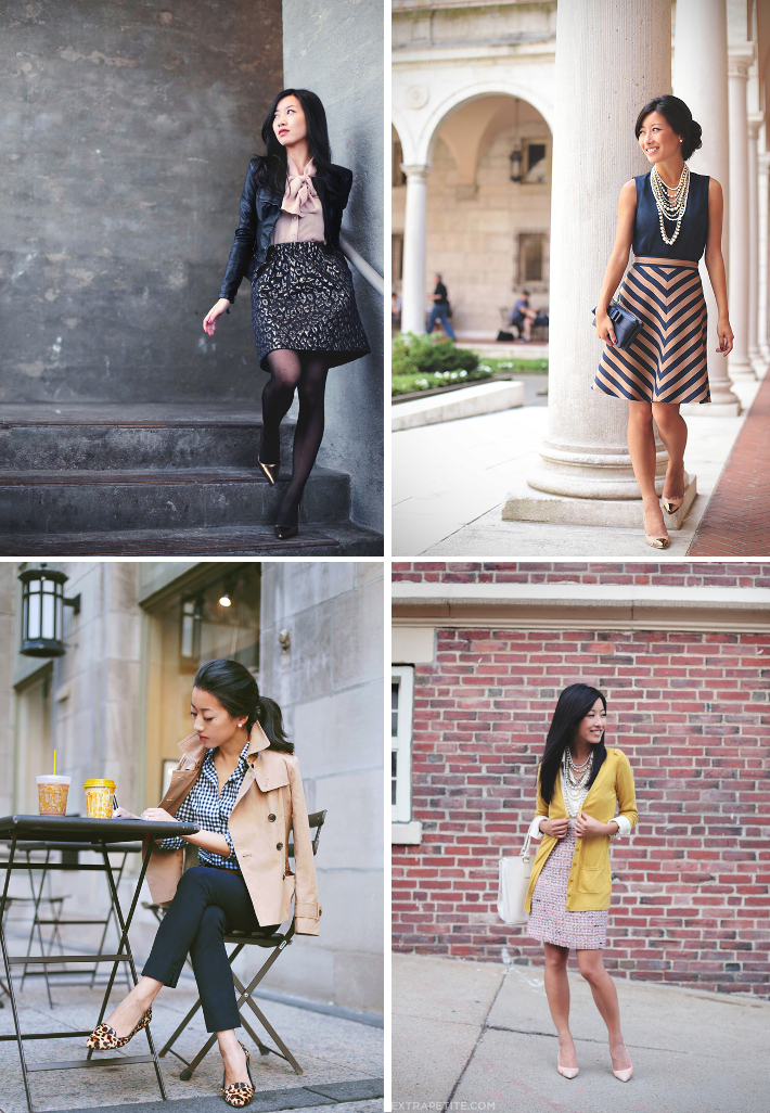 professional style inspiration: extra petite