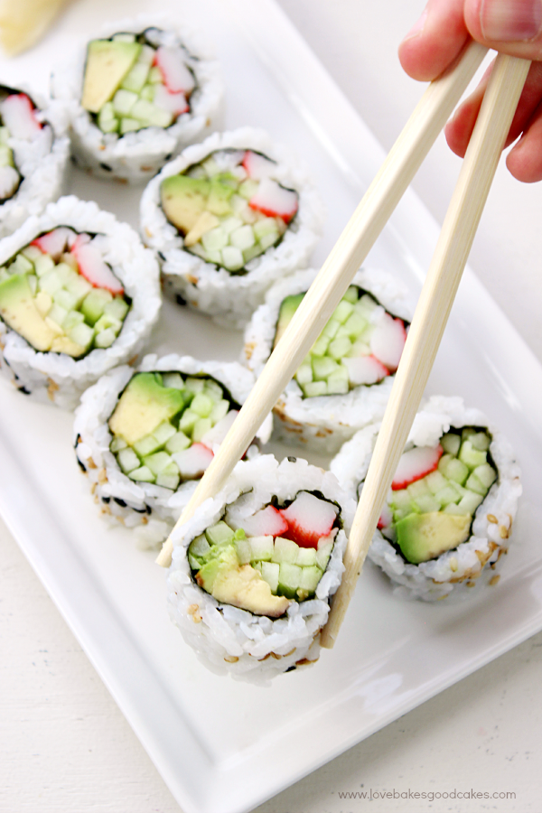 It's easy to make your own California Roll at home! California Rolls ...