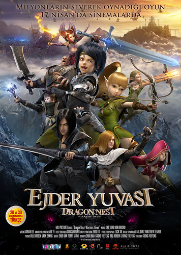 Ejder Yuvası - Dragon Nest: Warriors' Dawn (2015)