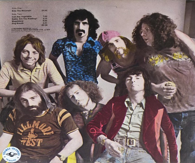 Frank Zappa S Mothers Just Another Band From L A Rock