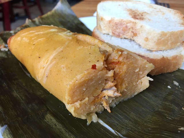 Chicken tamal - Balompie Cafe #3