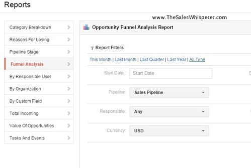 Insightly vs Infusionsoft CRM Reports