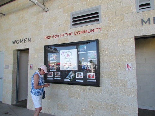Red Sox in the Community Display at JetBlue Park -- Ft. Myers, FL, March 16, 2015