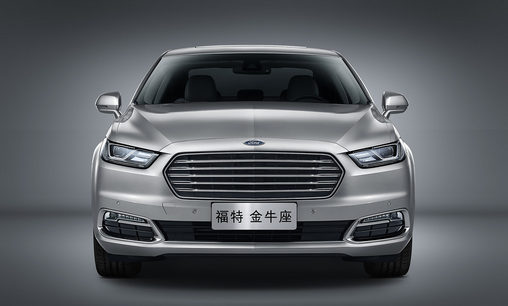Ford unveils 2016 Taurus for Chinese market